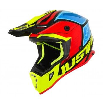 Just1 J38 Crosshelm Blade Yellow/Red/Blue/Black Gloss