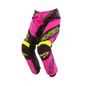 O'Neal Dames Crossbroek Element Racewear Pink/Yellow
