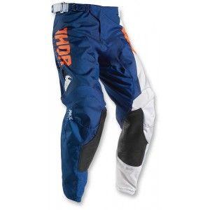 Thor Kinder Broek Pulse Aktiv Orange/Navy-26