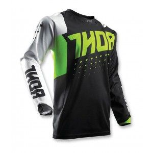 Thor Shirt Pulse Aktiv Lime/Black