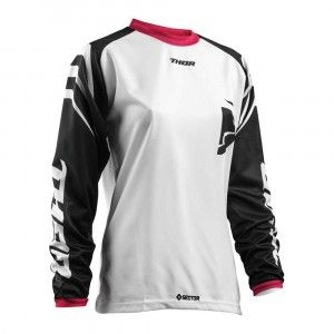 Thor Dames Shirt Pulse Sector Zones Black/Pink