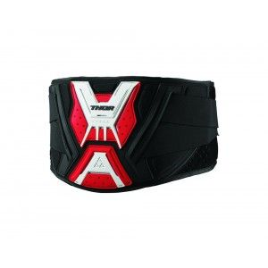 Thor Nier Gordel Force Black/Red/White