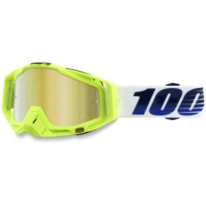 100% Crossbril Racecraft GP21/Mirror Gold