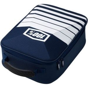 100% Goggle Case Brillentas Navy/White