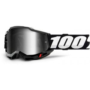 100% Crossbril Accuri 2 Black/Mirror Silver