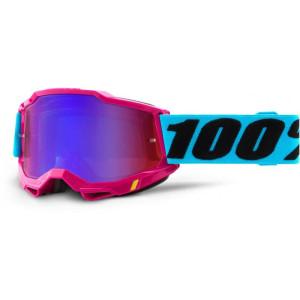 100% Crossbril Accuri 2 Lefleur/Mirror Blue