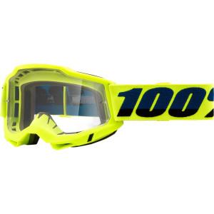 100% Crossbril Accuri 2 OTG Fluor Yellow (voor brildragers)