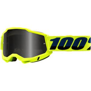 100% Crossbril Accuri 2 Sand Fluor Yellow (voor fijn zand)