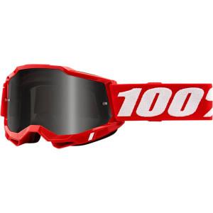 100% Crossbril Accuri 2 Sand Red (voor fijn zand)