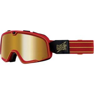 100% Crossbril Barstow Cartier Mirror Gold