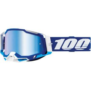 100% Crossbril Racecraft 2 Blue Mirror Blue