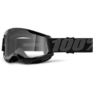 100% Crossbril Strata 2 Black/Clear