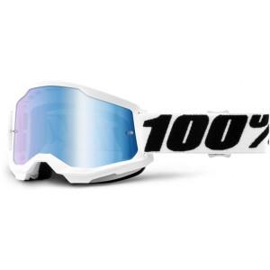 100% Crossbril Strata 2 Everest/Mirror Blue