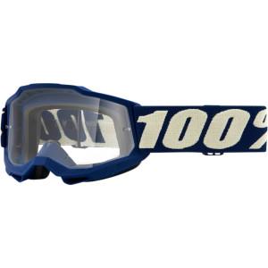 100% Kinder Crossbril Accuri 2 Youth Marine Clear