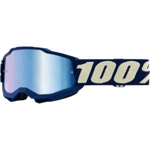 100% Kinder Crossbril Accuri 2 Youth Marine Mirror Blue