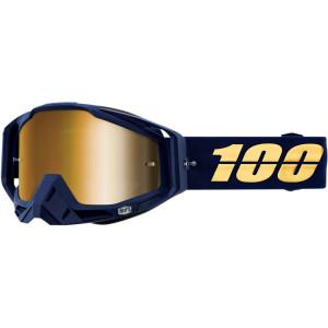 100% Crossbril Racecraft Bakken Mirror Gold