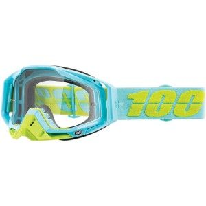 100% Crossbril Racecraft Pinacle clear
