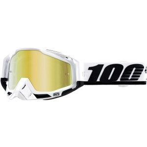 100% Crossbril Racecraft Stuu Mirror Gold