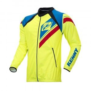 Kenny Enduro Light Jacket Neon Yellow/Blue/Red