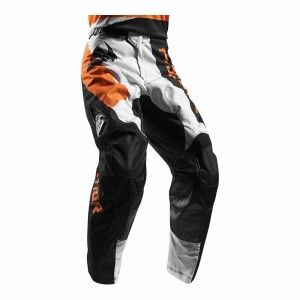 Thor Crossbroek Pulse Taper White/Orange