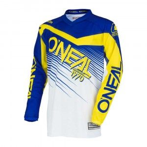 O'Neal Kinder Crossshirt Element Racewear Blue/Yellow