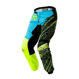 O'Neal Crossbroek Element Burnout Black/Blue/Hi-Viz