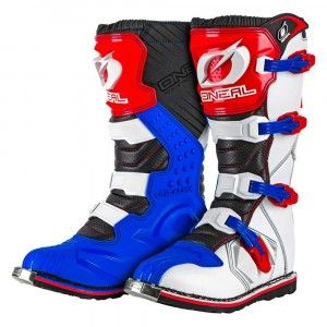 O'Neal Crosslaarzen Rider Blue/Red/White