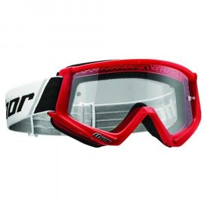 Thor Crossbril Combat Solid Red/Black