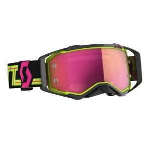 Scott Prospect Crossbril Black/Yellow-Pink Chrome