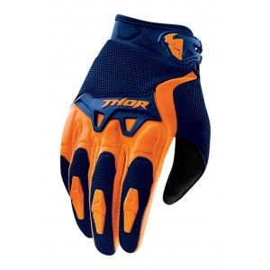 Thor Handschoenen Spectrum Navy/Orange