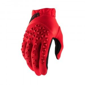 100% Crosshandschoenen Airmatic Red/Black
