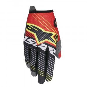 Alpinestars Handschoenen Radar Tracker Red/White/Black