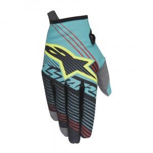 Alpinestars Handschoenen Radar Tracker Teal/Black/Fluor Yellow