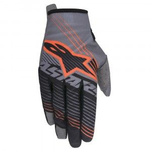 Alpinestars Handschoenen Radar Tracker Dark Gray/Black/Fluor Orange