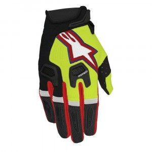 Alpinestars Handschoenen Racefend Fluor Yellow/Black/Red