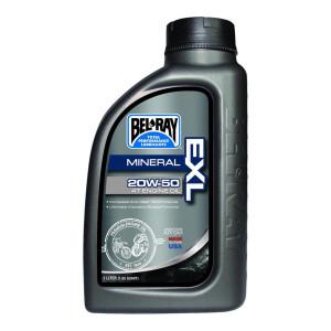 Bel-Ray EXL Mineral 4T Oil 20W-50-1 Liter