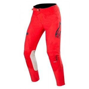 Alpinestars Supertech Crossbroek Bright Red/Navy/Off White