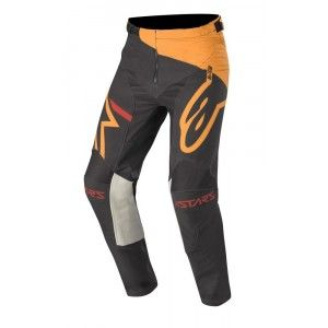 Alpinestars Racer Tech Compass Crossbroek Black/Orange