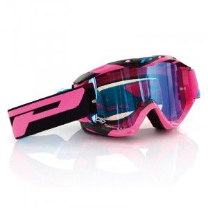 Progrip Crossbril 3450 Pink/Black/Mirror Blue