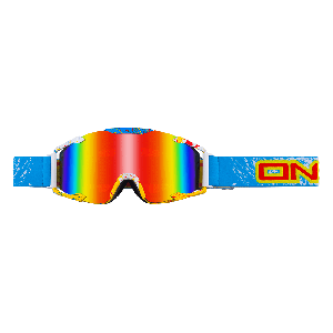 O'Neal Crossbril B2 Radium Goggle Spray Blue