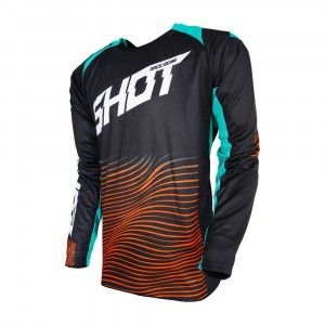 Shot Crossshirt Aerolite Optica Mint/Orange