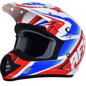 AFX Crosshelm FX-17 Red/White/Blue