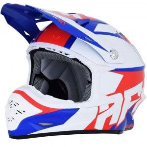 AFX Crosshelm FX-21 Red/White/Blue