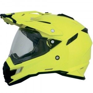 AFX Crosshelm/Endurohelm FX-41DS Hi-Vis Yellow