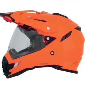 AFX Crosshelm/Endurohelm FX-41DS Safety-Orange