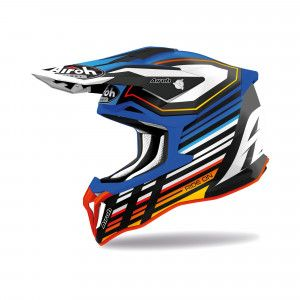 Airoh Stryker Crosshelm Shaded Blue/Red