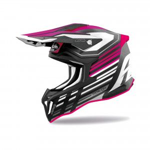 Airoh Stryker Crosshelm Shaded Pink