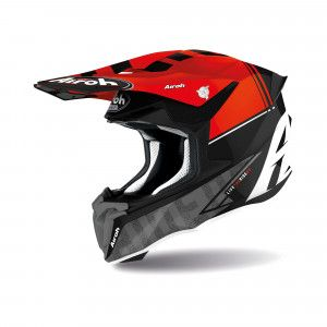 Airoh Twist 2.0 Crosshelm Tech Black/Red