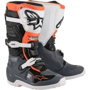 Alpinestars Kinder Crosslaarzen Tech 7S Black/White/Orange