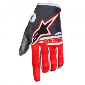 Alpinestars Handschoenen Radar Limited Edition Bomber Anthracite/Red/White